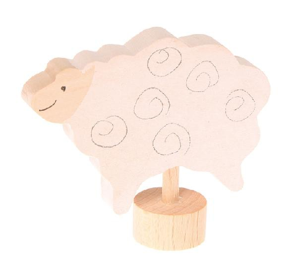 Grimm's Deco Standing Sheep white