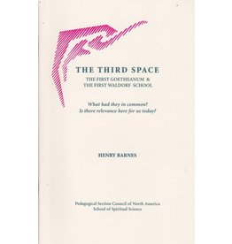 School of Speritual Science The Third Space: The first Goetheanum & the first Waldorf School