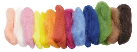 Gluckskafer Wool 15 colours, plant dyed 100g Gluckskafer