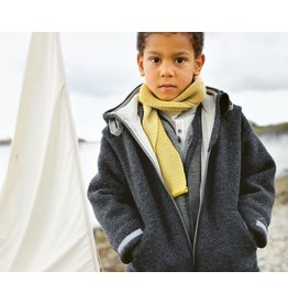 Disana Disana Child Jacket with Hood, Boiled Wool