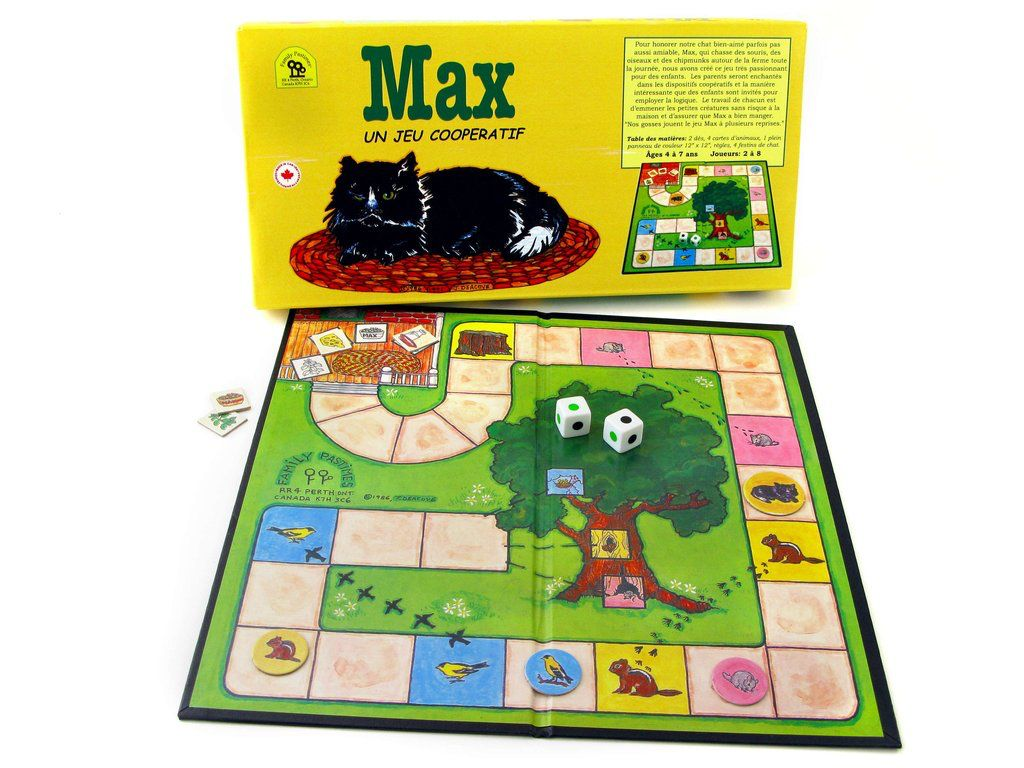Family Pastimes Max (le chat)