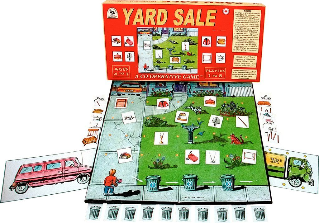 Family Pastimes Yard Sale