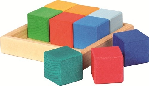 Gluckskafer Construction kit: Quadrat cubes