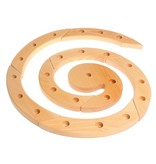 Grimm's Wooden Birthday And Advent Spiral, Natural