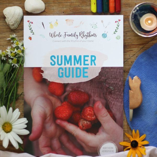 Meagan Wilson Whole Family Rhythms Summer Guide