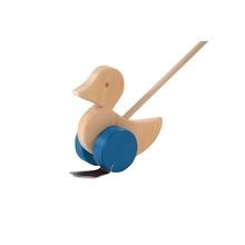 Ostheimer Push Toy Waddle Duck Blue