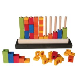 Grimm's Stepped Counting Blocks easy counting