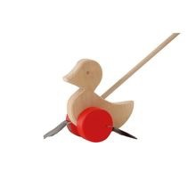 Ostheimer Push Toy Waddle Duck Red
