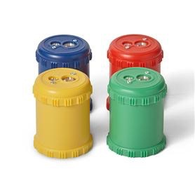 Mercurius Dual Pencil Sharpener for coloured giants 2 holes