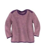 Disana Disana Baby Melange Sweater, Wool Knit