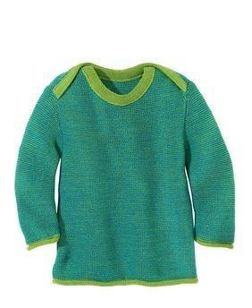 Disana Disana Baby Melange Sweater, Wool Knit