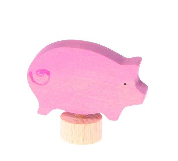 Grimm's Deco Pig, Pink