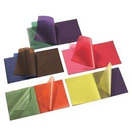 Mercurius Kite paper 16x16cm Christmas colours 5 colours x 20 sheets