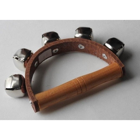 Uncategorized Handbells on leather strap