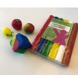 Weible Modelling Clay Fantasia 6 col. 90 gr.