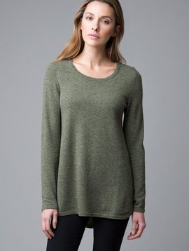Kinross Pleat Back Tunic Pullover