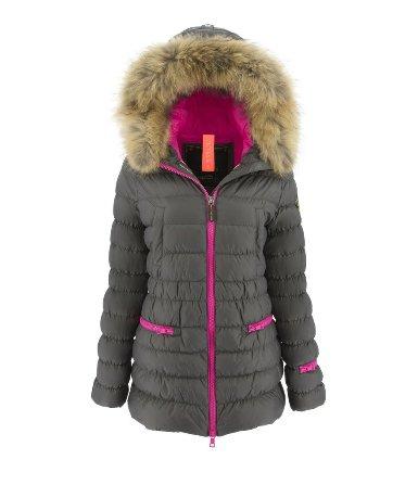 Eleven Elfs Down Jacket with Detachable Hood
