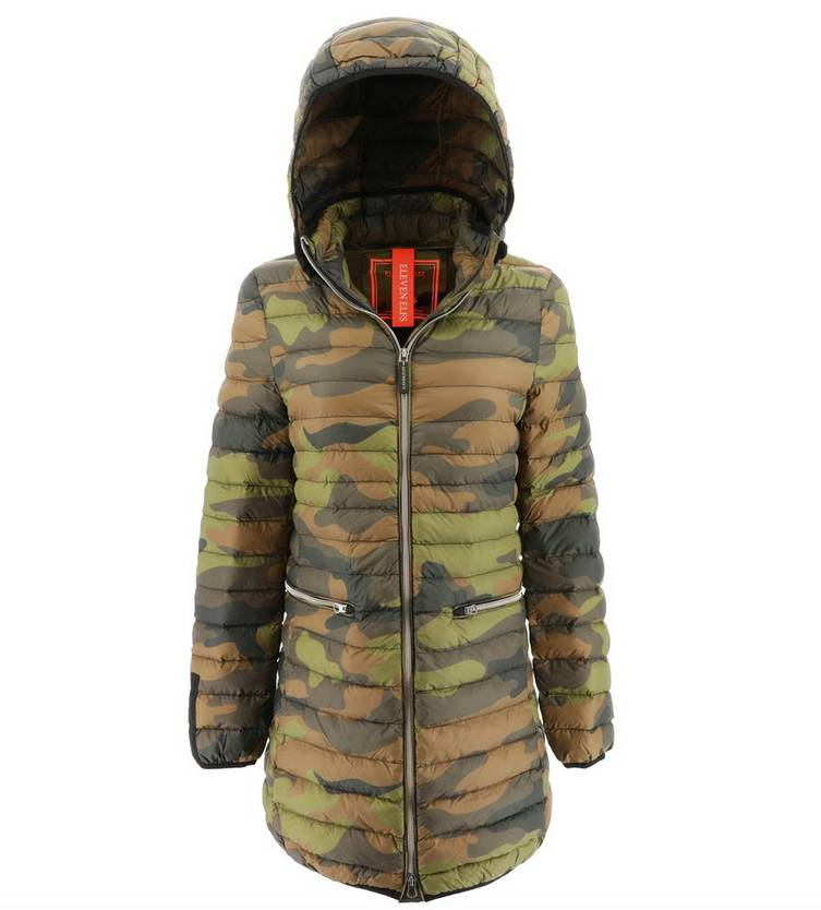 Eleven Elfs Vegan Down Coat with Detachable Hood