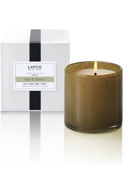 LAFCO Library Sage & Walnut Candle