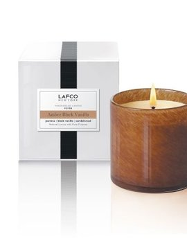 LAFCO Foyer Amber Black Vanilla 15.5 oz Candle