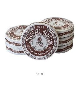Taza Chocolate Salted Almond Chocolate Mexicano Disc