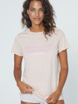 Spiritual Gangster Good Things Aurora Boxy Crew Tee