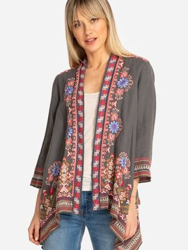 Johnny Was Frederique Draped Cardigan