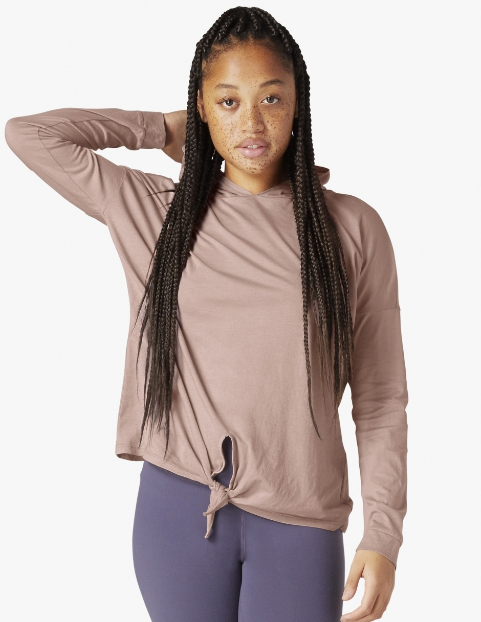 Beyond Yoga All About It Tied Hoodie