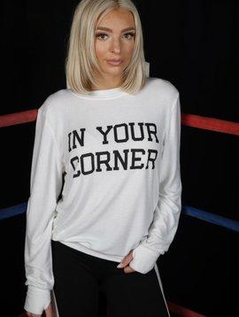 R&R Surplus In Your Corner Thumbhole Sweatshirt