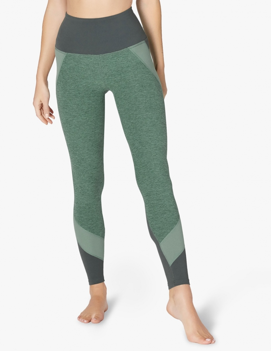 Beyond Yoga Colorblocked High Waist Long Legging
