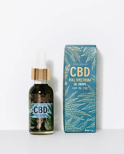 Shea Brand CBD Full Spectrum Oil Drop Tincture 30ml