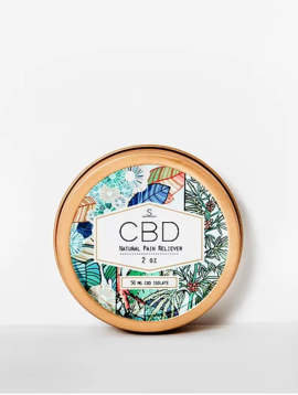 Shea Brand CBD Infused Natural Pain Reliever Balm 2oz