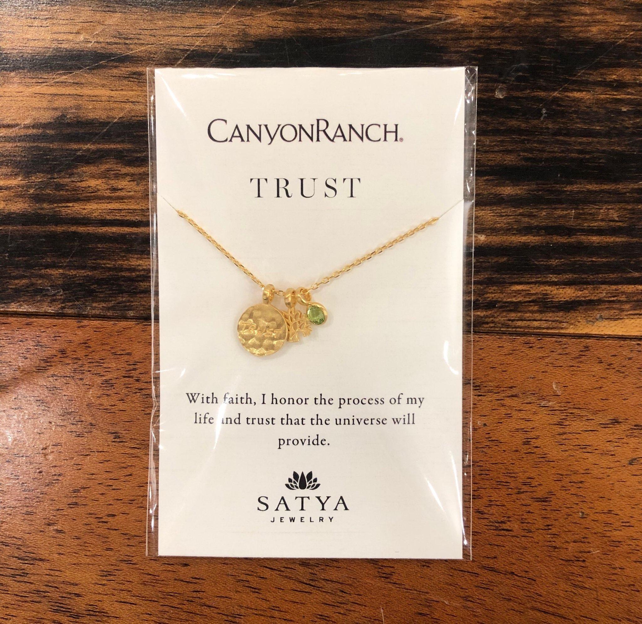Satya x Canyon Ranch Trust Tree Peridot Necklace