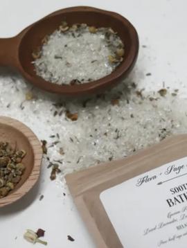Flora + Sage Soothing Bath Soak 8oz