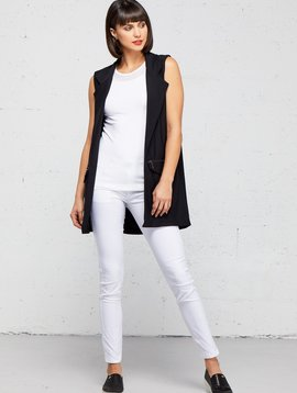 4ba0f4f766fe33 Anatomie Solange Knit Vest w  Zipper Details