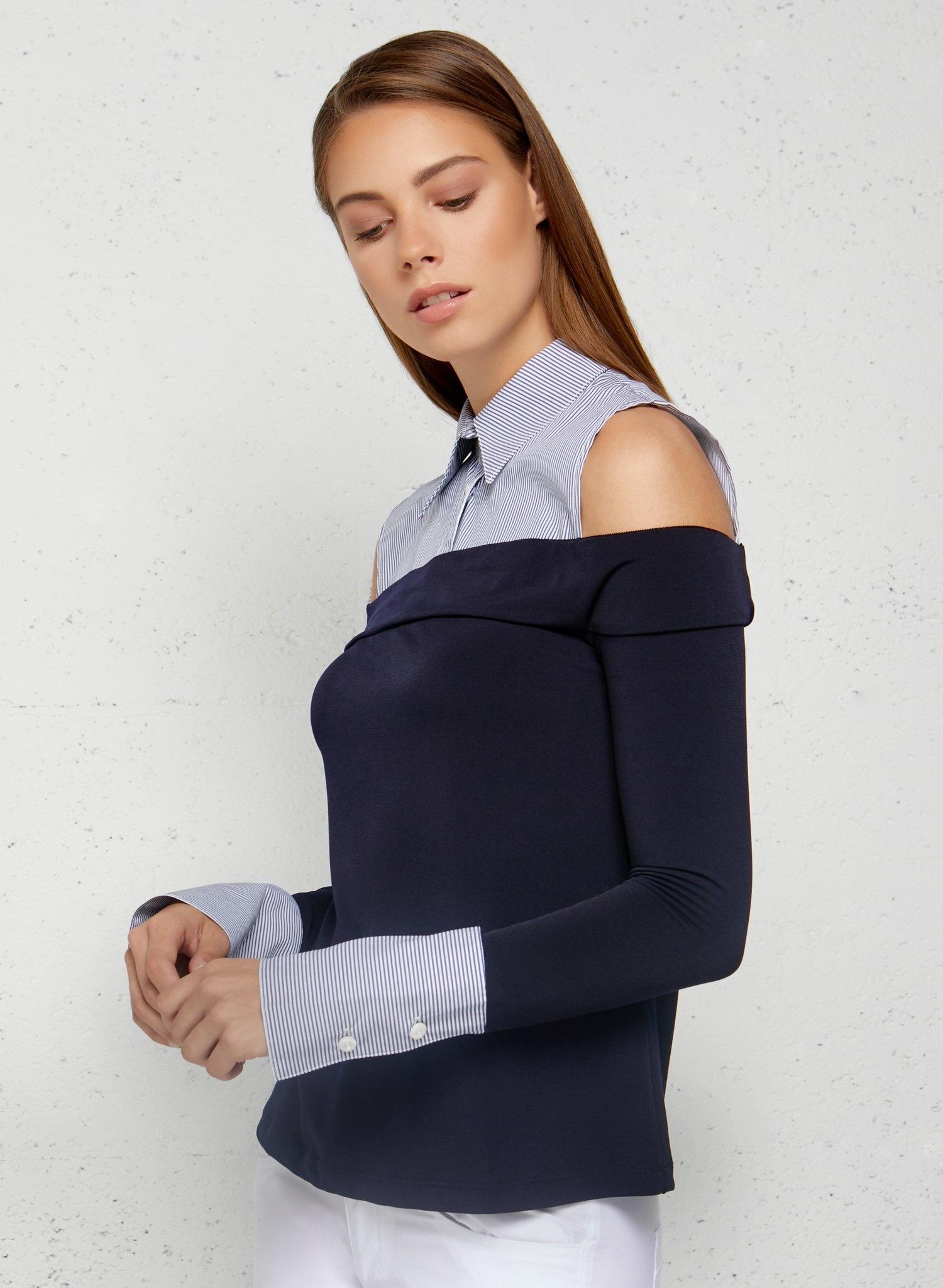 Anatomie Gigi Cold Shoulder Top