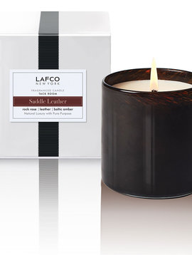 LAFCO Tack Room Saddle Leather 15.5oz Candle