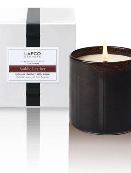LAFCO Tack Room Saddle Leather 15.5oz Candle