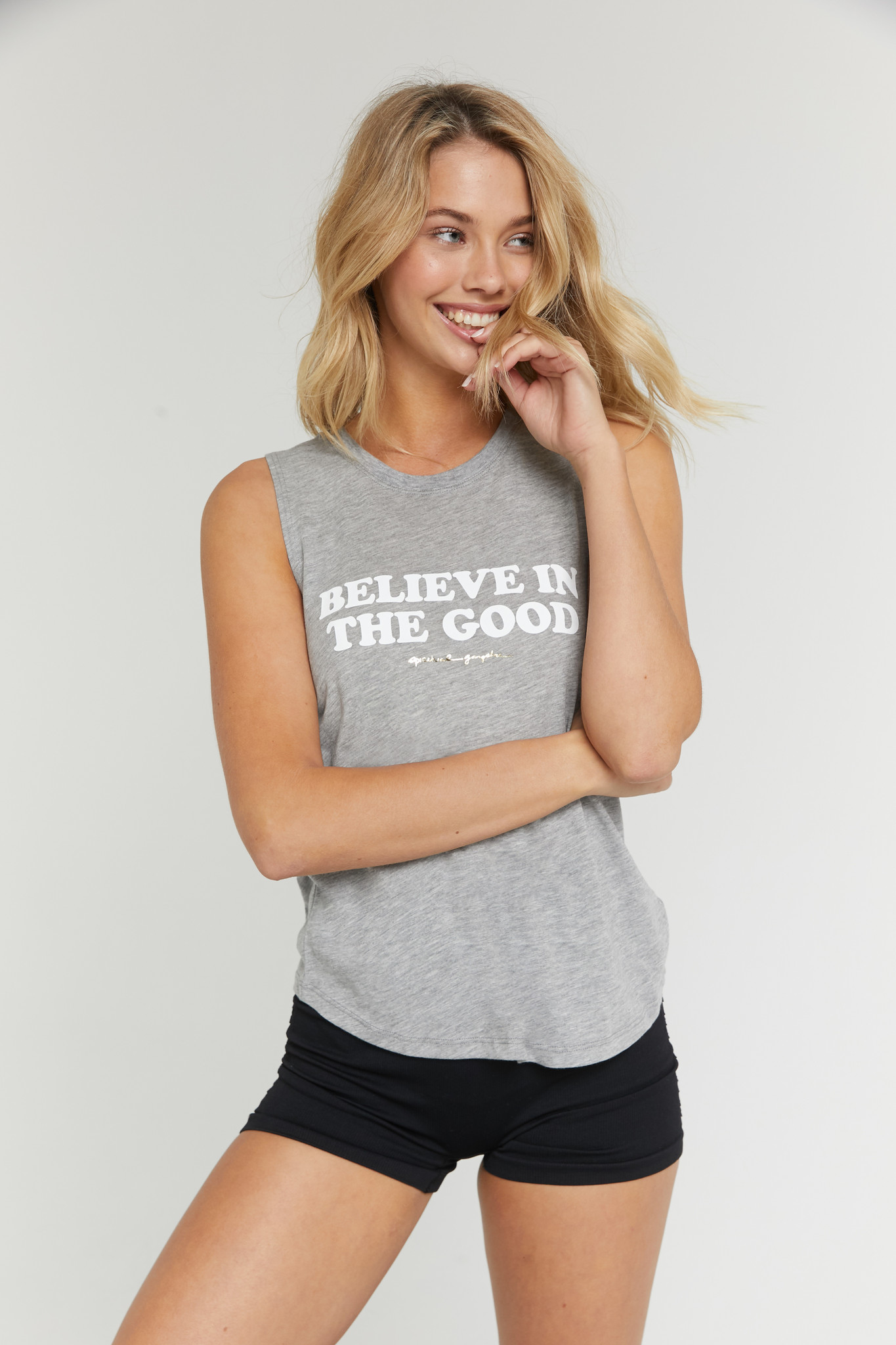 Spiritual Gangster Believe in The Good Muscle Tank