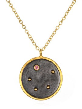"Satya 18"" Libra Zodiac Necklace"