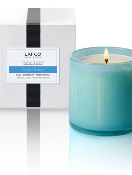 LAFCO Breakfast Room Citrus Berry 15.5oz Candle