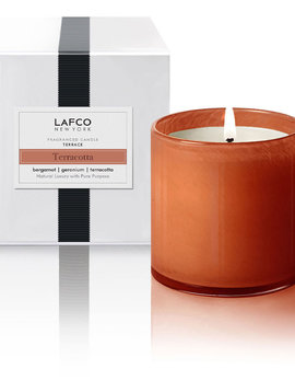 LAFCO Terrace Terracotta Signature Candle 15.5oz