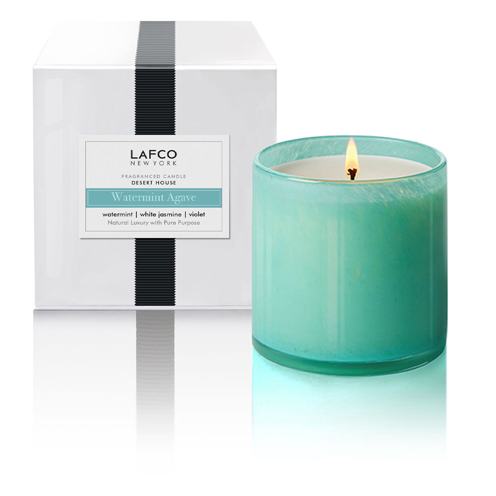 LAFCO Desert House Watermint Agave Signature 15.5oz Candle