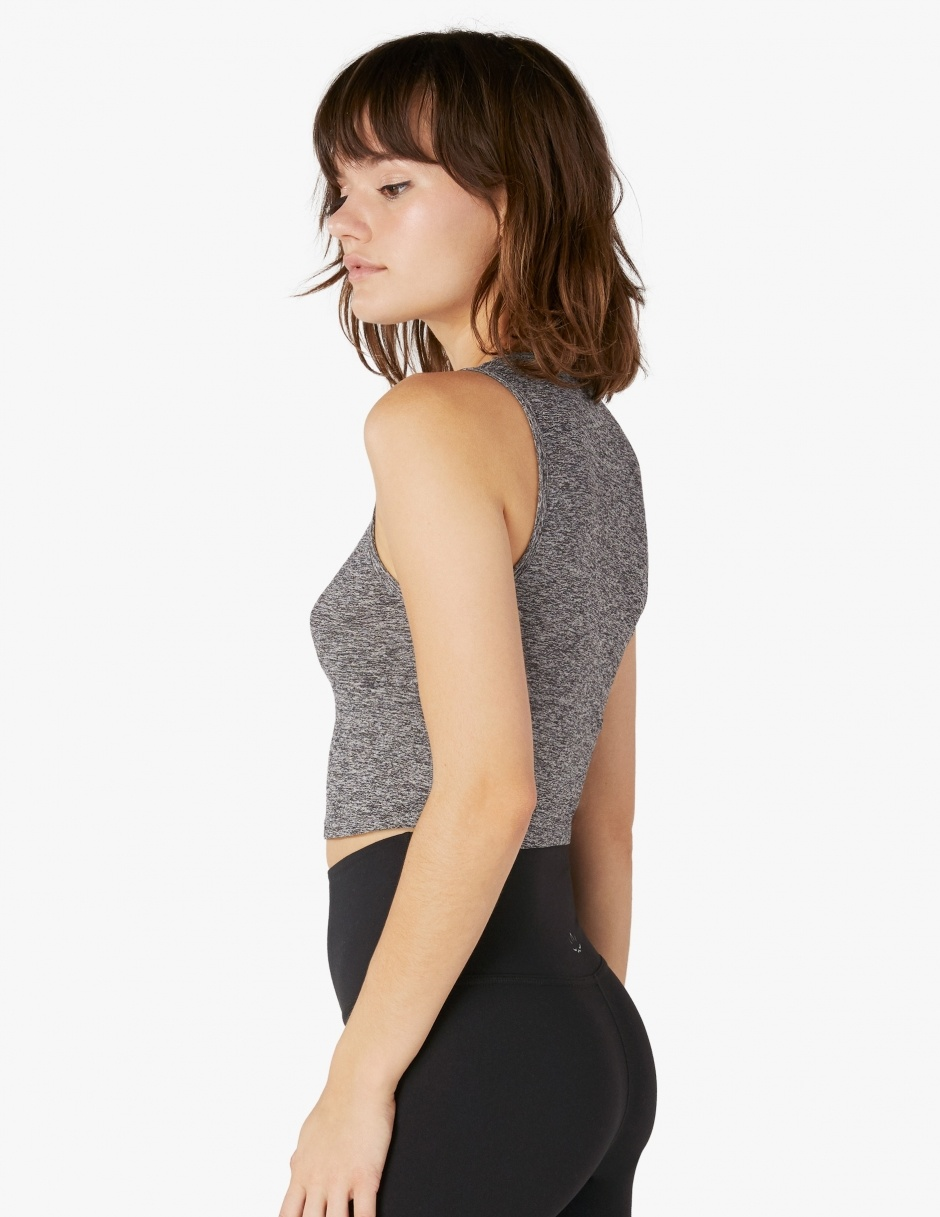 Beyond Yoga Featherweight Top Notch Cropped Tank