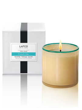 LAFCO Pool House French Lilac 6.5oz Classic Candle