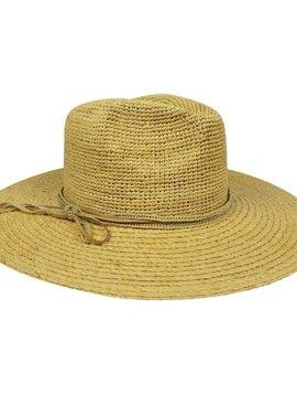 Hat Attack Mixed Raffia Continental
