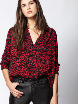 Zadig & Voltaire Tink Print Leo Tunic
