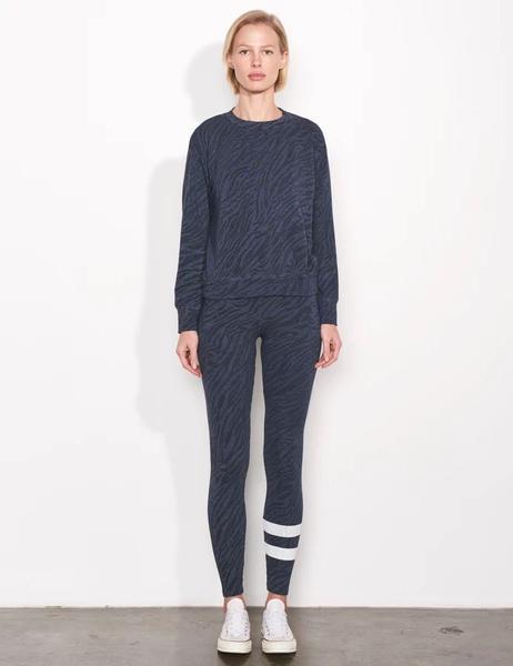 Sundry Zebra Basic Sweatshirt