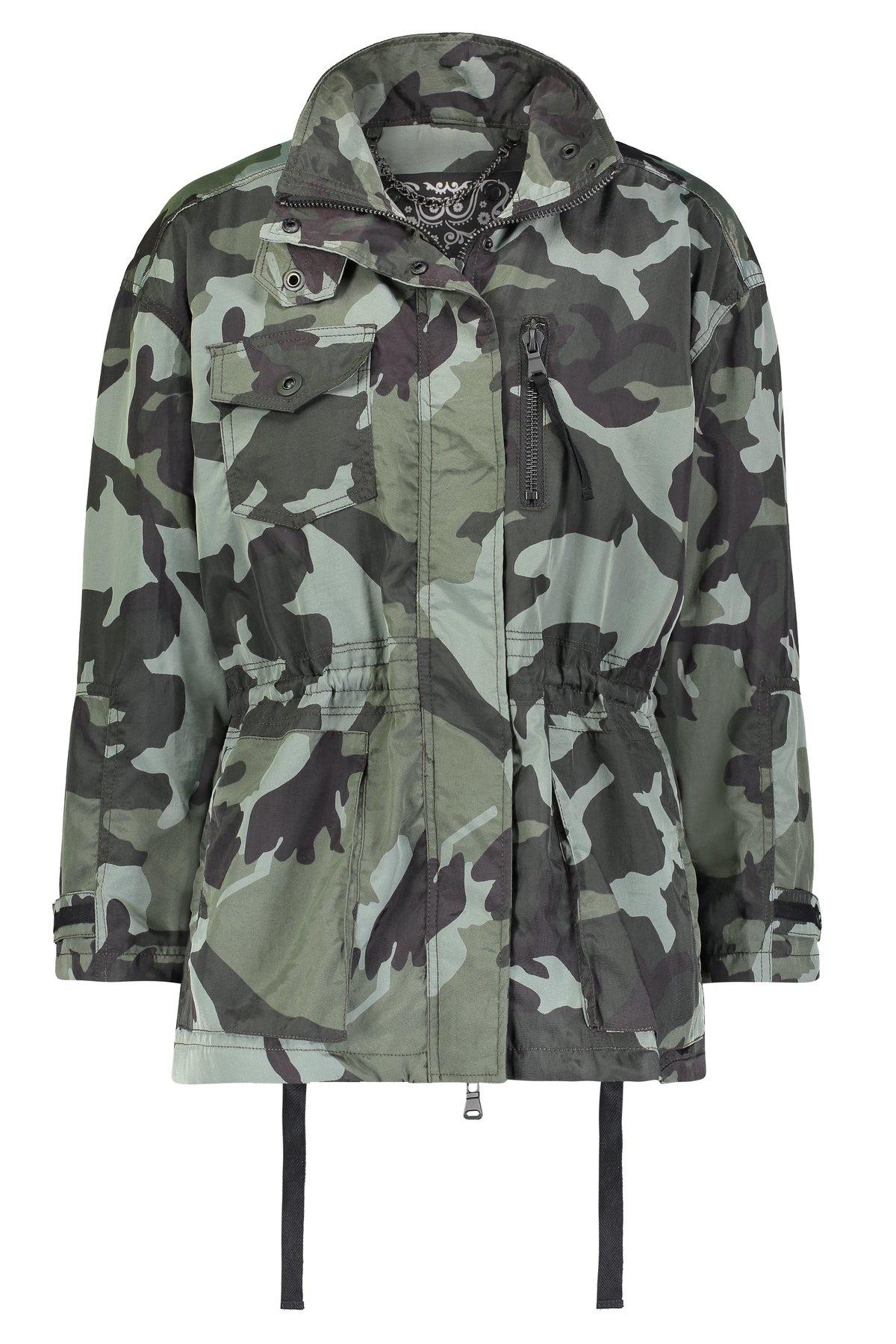 Anorak Jody Camo Anorak Jacket