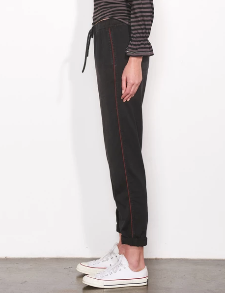Sundry Drawstring Loved Embroidery Pants